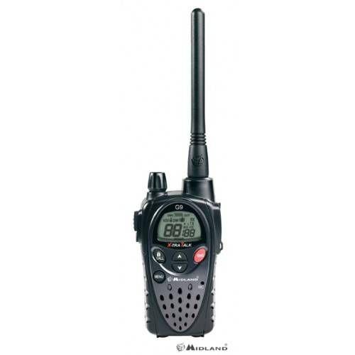 MIDLAND RADIO G9 PLUS CON CARICATORE DA TAVOLO e BATTERIE