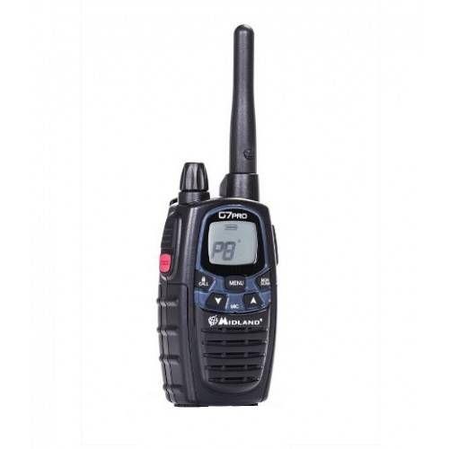 MIDLAND RADIO G7 PRO-1 CON CARICATORE MURO + 4 BATTERIE 1800mAh