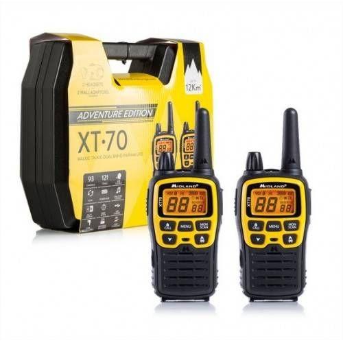 MIDLAND COPPIA RADIO XT70 ADVENTURE CON ACCESSORI E VALIGETTA