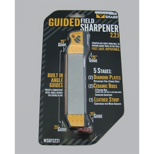 WORK SHARP AFFILATORE A MANO CON GUIDE GF221