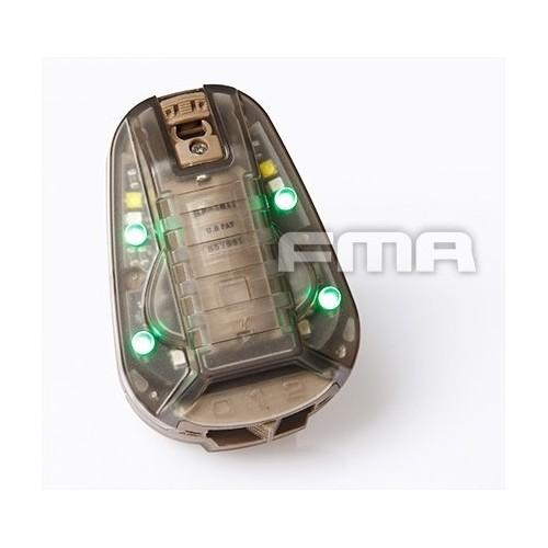 FMA LUCE HEL-STAR 6 GEN III GREEN/IR LIGHT/STROBE