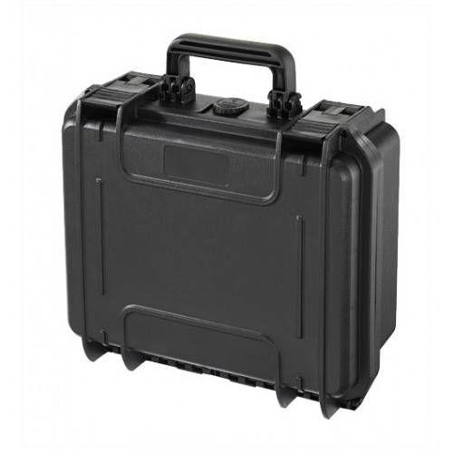 PLASTICA PANARO VALIGETTA RIGIDA Mod MAX 300S 33,6x30x14,8 cm NERA CON SPUGNA CUBETTATA