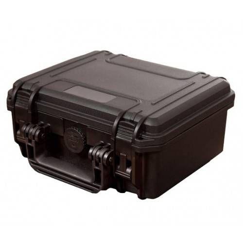 PLASTICA PANARO VALIGETTA RIGIDA Mod MAX235H 25,8x24,3x11,75 cm NERA CON SPUGNA CUBETTATA