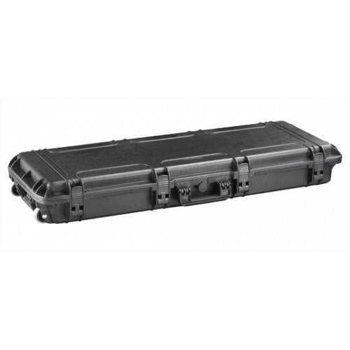 PLASTICA PANARO VALIGIA RIGIDA Mod MAX 1100S 117,7x45x15,8 cm NERA CON SPUGNA CUBETTATA