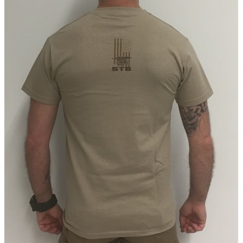 DEATH HOUSE T-SHIRT SEAL TEAM GERONIMO OPERATION TAN