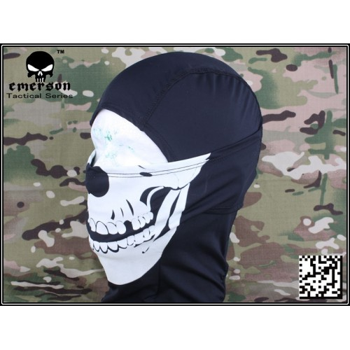 EMERSON BALACLAVA SKULL GLOW IN THE DARK