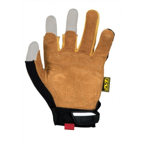 MECHANIX WEAR GUANTI LEATHER M-PACT FRAMER BLACK/COYOTE BROWN