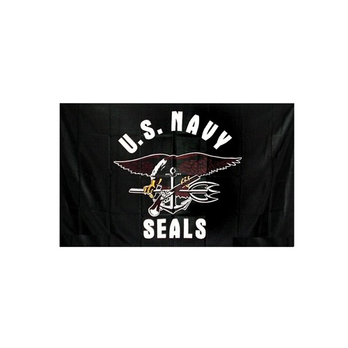 USA BANDIERA NAVY SEALS cm 100x160