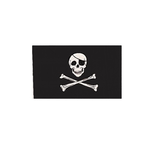 USA BANDIERA JOLLY ROGER cm 100x160