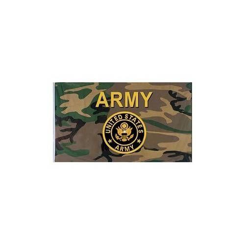 USA BANDIERA U.S. ARMY CAMO cm 100x160