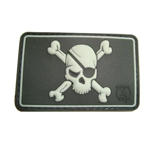 DEFCON5 PATCH PIRATE SKULL