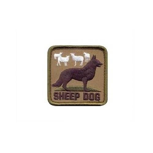 USA PATCH SHEEP DOG