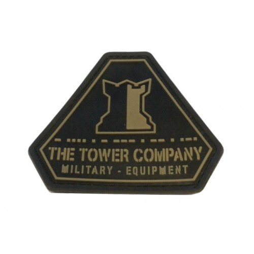 THE TOWER COMPANY PATCH T.T.C. LOGO