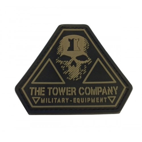THE TOWER COMPANY PATCH T.T.C. GHOST