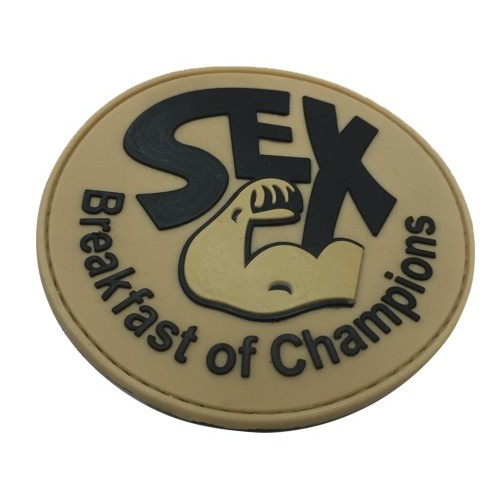 THE TOWER COMPANY PATCH SEX BREAKFAST OF CHAMPIONS