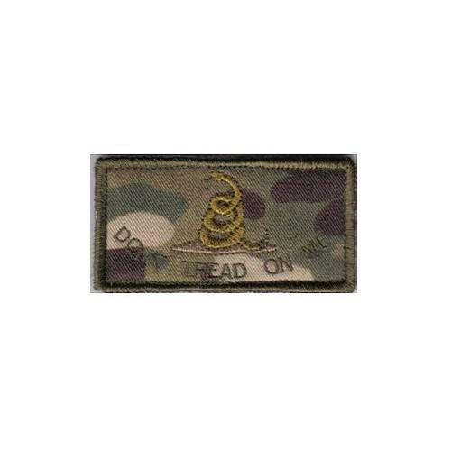 CAMOTECH DISTINTIVO STOFFA USA FLAG GADSDEN VELCRO MULTICAM