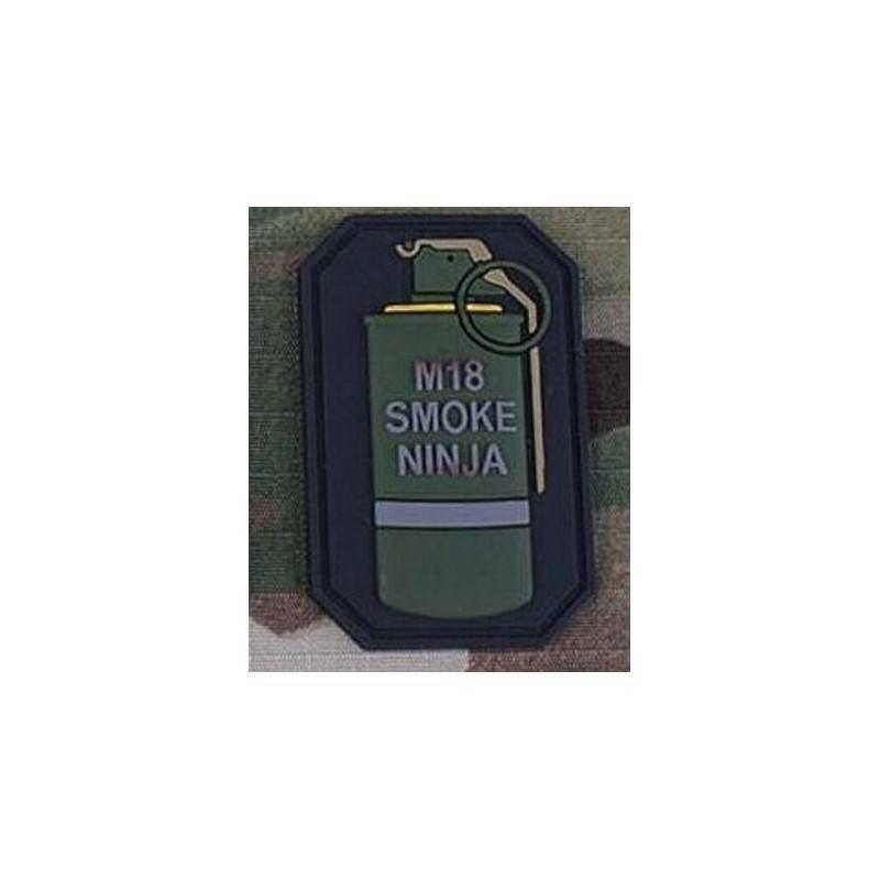EMERSON PATCH IN PVC M18 SMOKE NINJA