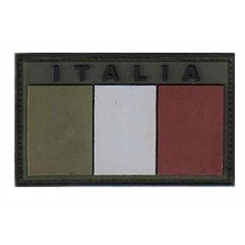 OPENLAND PATCH RUBBER BANDIERA ITALIA BASSA VISIBILITA'