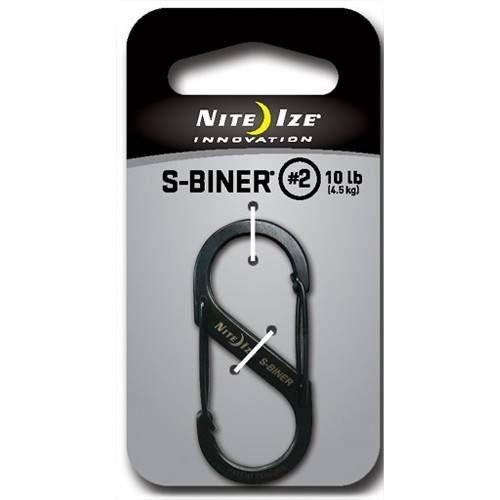 NITE IZE MOSCHETTONE/GANCIO S-BINER IN ACCIAIO