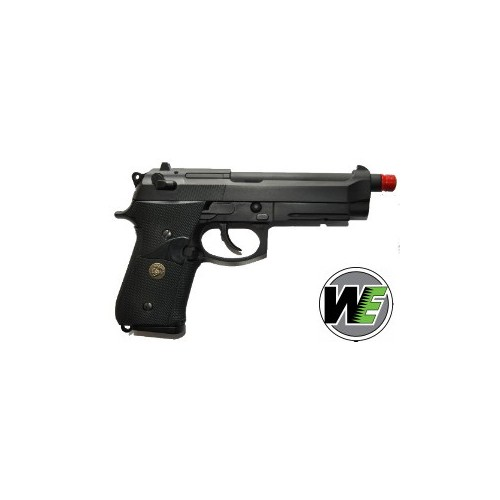 WE PISTOLA SOFTAIR A GAS M9A1 MARINE BLACK