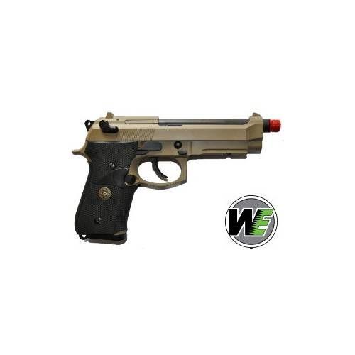WE PISTOLA SOFTAIR A GAS M9A1 MARINE TAN