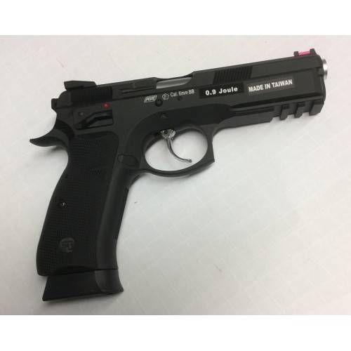 ASG PISTOLA SOFTAIR A GAS CZ SP-01 SHADOW BLACK