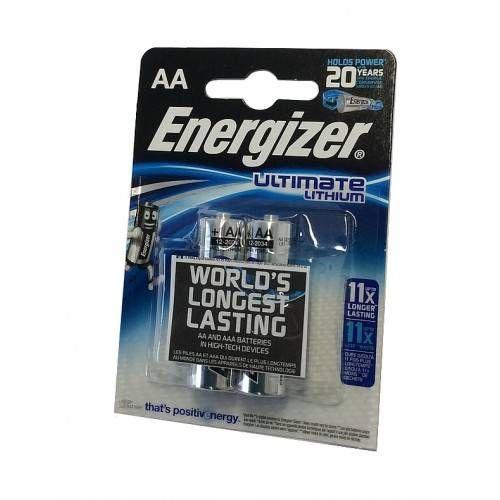 ENERGIZER BATTERIA ULTIMATE LITIO AA STILO USA&GETTA (2pz)