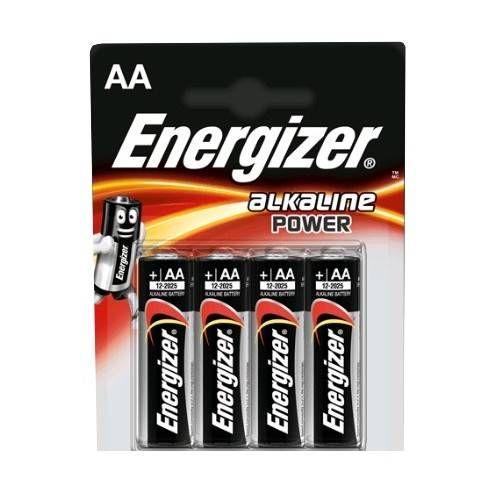 ENERGIZER BATTERIA STILO AA *Conf. 4 pz*