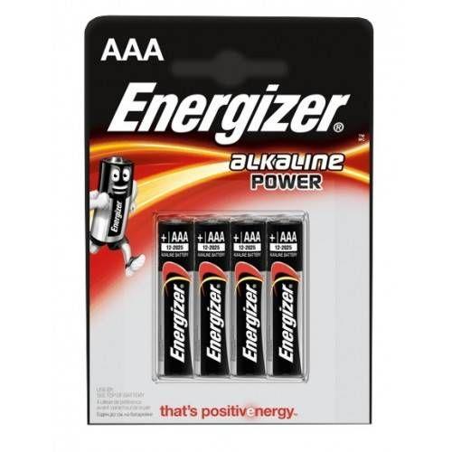 ENERGIZER BATTERIA STILO AAA *Conf. 4 pz*