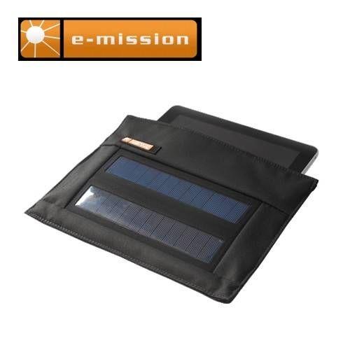 E-MISSION BUSTA SOLAR 2W CON BATTERIA 2200 mAH