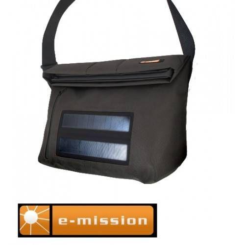 E-MISSION MESSENGER GRANDE SOLAR 2W CON BATTERIA 2200 mAH