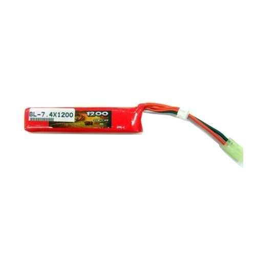 BILLOWY/FUELRC BATTERIA LIPO 7,4v 1200mAh 15C