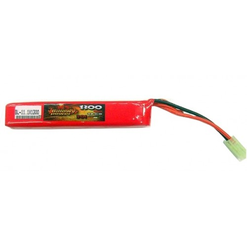 BILLOWY BATTERIA LIPO 11,1v 1300mAh 20C