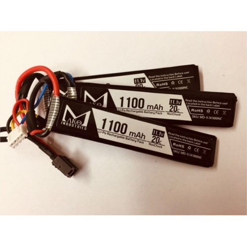 MAKO INDUSTRIES BATTERIA LIPO 11.1v 1100mAh 20C MULTI