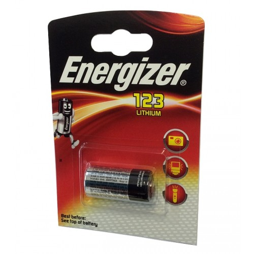 ENERGIZER BATTERIA CR123AP LITIO