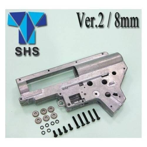 SHS GEAR BOX VER. 2 RINFORZATO CON BOCCOLE DA 8mm