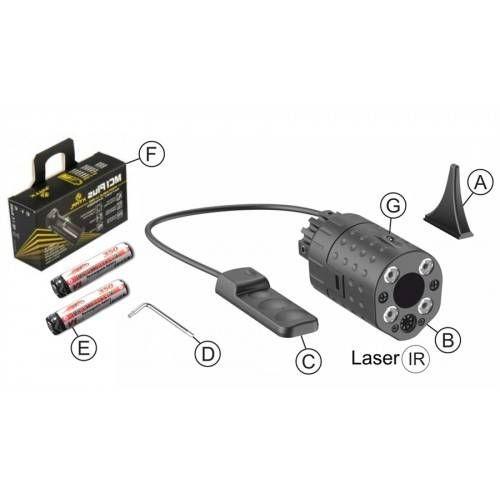 LASER LED RELEASE 2.0 XG130 LASER IR (@)