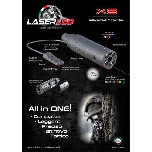 LASER LED RELEASE 2.0 XS110 LASER ROSSO
