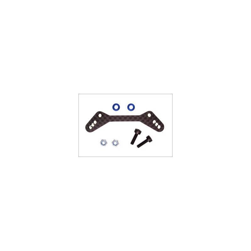 KYOSHO SUPPORTO AMMORTIZZATORI ANT CARBONIO RRR *LIQ-50*