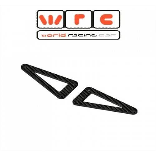 WRC PROTOTIPO LEMANS 1/10 SUPPORTO COLONNINE CARROZZERIA POST.