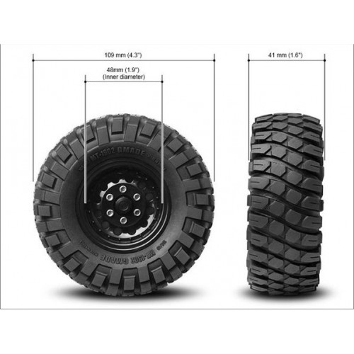 GMADE GOMME 1.9MT 1901 SCALE-CRAWLER