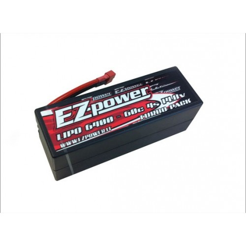 EZPOWER PACCO BATTERIA 6400 MAH 4S 14,8V -60C