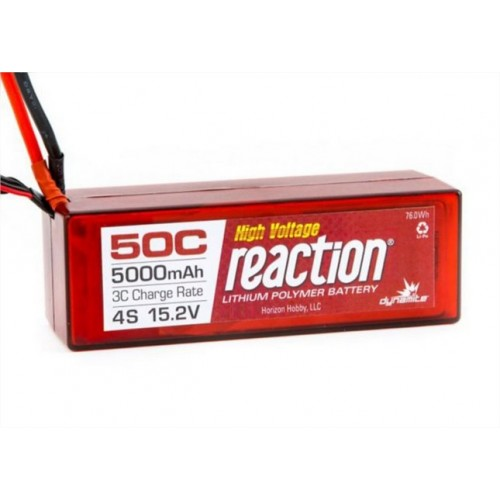 DYNAMITE BATTERIA LIPO REACTION 15,2V HV 5000 4S 50C EC5