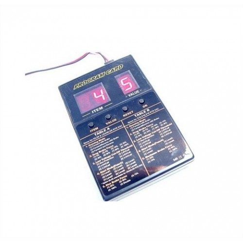 EZ POWER PROGRAM CARD X ESC45AMP