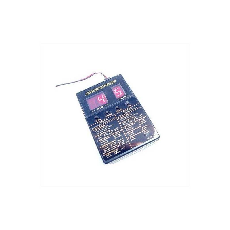 EZ POWER PROGRAM CARD X ESC45AMP