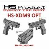 "HS PISTOLA XDM-9 4.5"" Mod. OPTICAL CAL. 9x21"