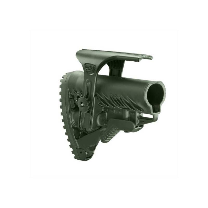 FAB DEFENSE CALCIO COLLASSABILE GLR-16 ALTEZZA REGOLABILE PER M4/AR15