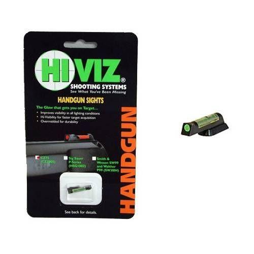 HIVIZ MIRINO PER CZ 75/85/97/P01/83 GREEN