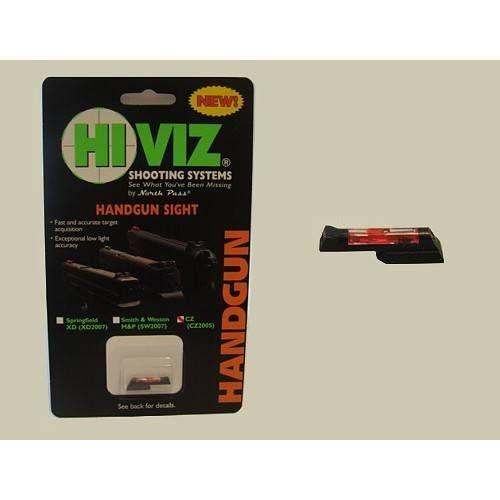 HIVIZ MIRINO PER CZ 75/85/97/P01/83 RED (@)