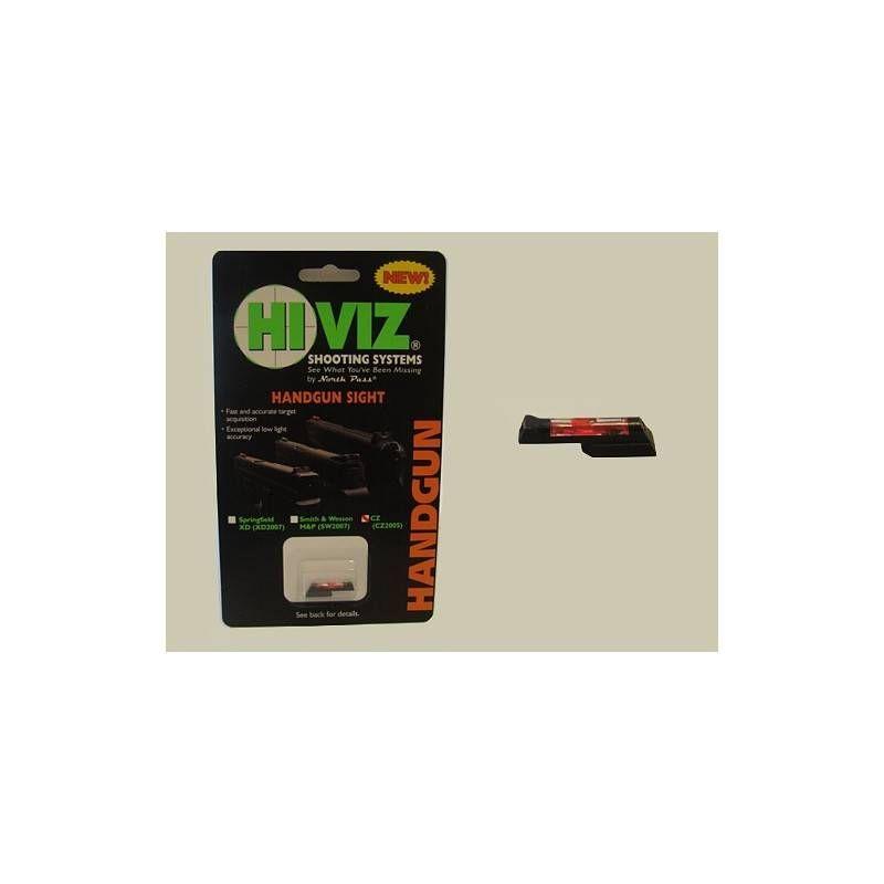HIVIZ MIRINO PER CZ 75/85/97/P01/83 RED